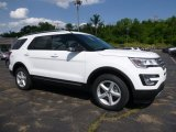2017 Oxford White Ford Explorer XLT 4WD #114301357