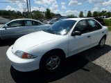 2002 Bright White Chevrolet Cavalier Sedan #114301465