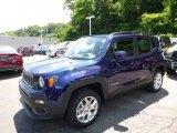 2016 Jetset Blue Jeep Renegade Limited 4x4 #114301518