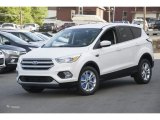 2017 White Platinum Ford Escape SE #114301450
