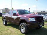 2006 Dark Toreador Red Metallic Ford F150 STX Dick CEPEC SuperCab 4x4 #11407308