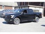 2016 Shadow Black Ford F150 Lariat SuperCrew 4x4 #114301445