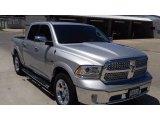 2014 Bright Silver Metallic Ram 1500 Laramie Crew Cab 4x4 #114301190