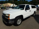 2006 Chevrolet Silverado 1500 LS Regular Cab 4x4 Front 3/4 View