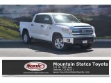 2016 Super White Toyota Tundra SR5 CrewMax 4x4 #114326392