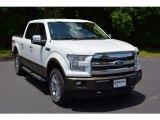 2016 Oxford White Ford F150 Lariat SuperCrew 4x4 #114326686