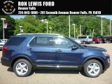 2017 Blue Jeans Ford Explorer XLT 4WD #114326565