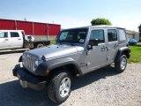 2016 Billet Silver Metallic Jeep Wrangler Unlimited Sport 4x4 #114326618