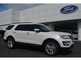 2017 White Platinum Ford Explorer Limited #114326582