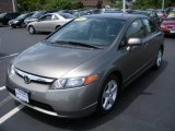 2007 Galaxy Gray Metallic Honda Civic EX Sedan #11414962