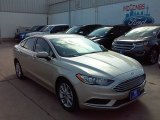 2017 White Gold Ford Fusion SE #114354846