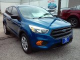 2017 Lightning Blue Ford Escape S #114354845