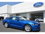 2017 Lightning Blue Ford Mustang V6 Coupe #114354971