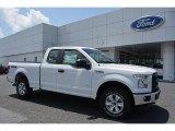 2016 Oxford White Ford F150 XL SuperCab 4x4 #114354964