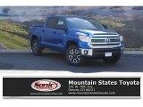 2016 Blazing Blue Pearl Toyota Tundra SR5 CrewMax 4x4 #114354772