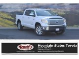 2016 Super White Toyota Tundra Limited CrewMax 4x4 #114354770