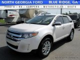 2014 White Platinum Ford Edge Limited AWD #114354714