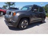 2016 Granite Crystal Metallic Jeep Renegade Sport #114382055