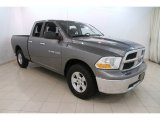 2012 Mineral Gray Metallic Dodge Ram 1500 SLT Quad Cab 4x4 #114382268