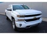 2016 Summit White Chevrolet Silverado 1500 LT Crew Cab 4x4 #114381985