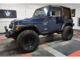 2002 Jeep Wrangler Patriot Blue Pearl