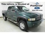 2001 Forest Green Pearl Dodge Ram 1500 SLT Club Cab 4x4 #114381887