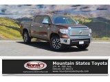 2016 Sunset Bronze Mica Toyota Tundra Limited CrewMax 4x4 #114409189