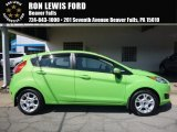2014 Green Envy Ford Fiesta SE Hatchback #114409316