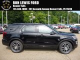 2017 Shadow Black Ford Explorer Sport 4WD #114409314