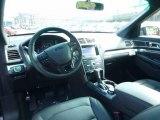 2017 Ford Explorer Sport 4WD Ebony Black Interior