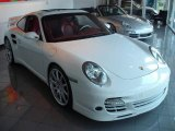 2008 Carrara White Porsche 911 Turbo Coupe #11402895