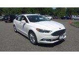 2017 White Platinum Ford Fusion SE #114456446