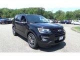 2017 Shadow Black Ford Explorer Sport 4WD #114456442