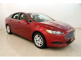 2013 Ruby Red Metallic Ford Fusion SE #114462062