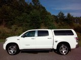 2008 Super White Toyota Tundra Limited CrewMax 4x4 #114485186