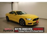 2015 Triple Yellow Tricoat Ford Mustang V6 Coupe #114485308