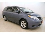 2013 Shoreline Blue Pearl Toyota Sienna LE #114485560