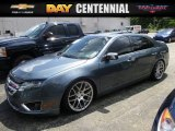 2011 Steel Blue Metallic Ford Fusion SEL V6 #114485344