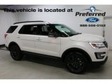2017 White Platinum Ford Explorer XLT 4WD #114485132
