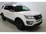 2017 Ford Explorer White Platinum