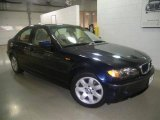 2004 Orient Blue Metallic BMW 3 Series 325i Sedan #1141296