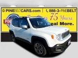 2016 Alpine White Jeep Renegade Limited 4x4 #114517587