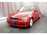 2007 Crimson Red BMW 3 Series 328xi Sedan #11401444