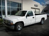2002 Summit White Chevrolet Silverado 1500 LS Regular Cab #1141300