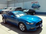 2017 Lightning Blue Ford Mustang V6 Coupe #114517711