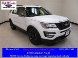 2017 Oxford White Ford Explorer XLT #114517696