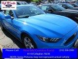 2017 Grabber Blue Ford Mustang V6 Coupe #114517695