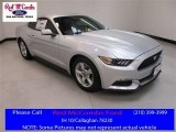 2017 Ingot Silver Ford Mustang V6 Coupe #114517693
