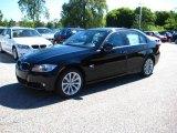 2009 Jet Black BMW 3 Series 328xi Sedan #11412905