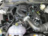 2017 Ford Mustang V6 Coupe 3.7 liter DOHC 24-Valve Ti-VCT V6 Engine